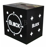 Block cible black B20