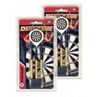 LPSA Set de fléchettes Dart Game pointe acier 22g