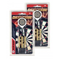 LPSA Set de fléchettes Dart Game pointe acier 24g