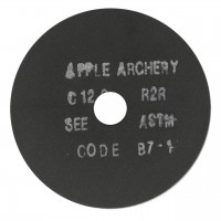 "APPLE ARCHERY 025 x 3"" MEULES COUPE TUBE EN SILICON GRAPHITE"