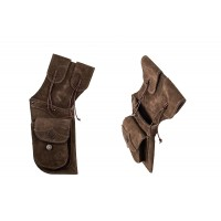 BUCK TRAIL carquois holster TRADITIONAL 42cm BUCKSKIN MARON FONCE