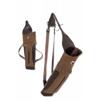BUCK TRAIL BIG STAG RH BROWN CUIR / SUEDE AVEC POCHE AVANT  56cm