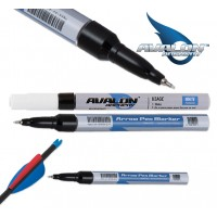 AVALON ARROW MARKER PEN 0.7mm WHITE