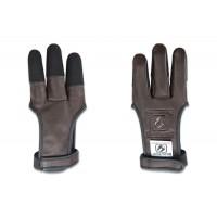 BUCK TRAIL gant cuir 'AMBER' avec embout de doigts en cordura